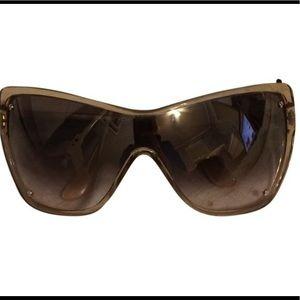 Tom Ford Ekaterina Square Mask Sunglasses